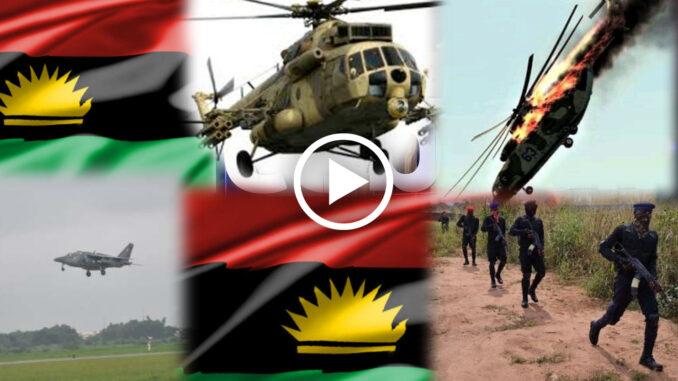 Watch how Nigerian Solders sent to look ESN ran away, after ESN performs magic in Benue (Video)