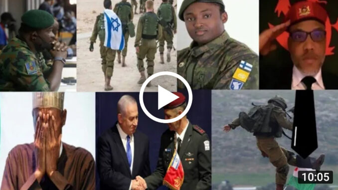Military first Wave Arrive Biafra Land