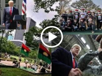 Donald Trump Speaks On Biafra Referendum