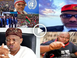 FG Only Fear/Respect Mazi Nnamdi Kanu Not Someone Seeking For Attention – Lai Mohammed To Asari Dokubo (Video)