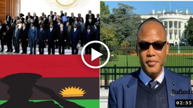 Truly Mazi Nnamdi Kanu Is The Chosen One To Restore #Biafra, Isreal Senator Encouraged Biafrans (Video)
