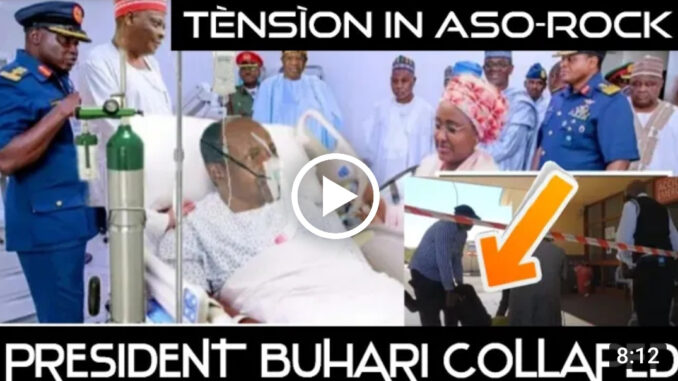 President Buhari Collapsed