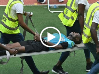 Referee Collapses