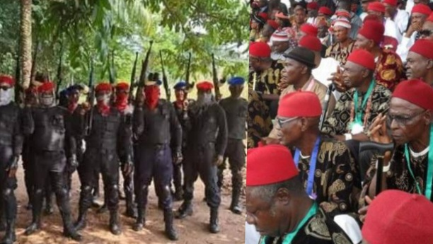 World Igbo Congress Rejects 'Ebube Agu' Stick To ESN As The Only Security Outfit