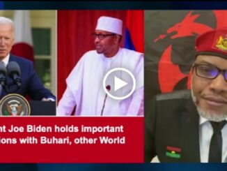 Joe Biden Invites Buhari