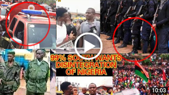 ESN Is The Only Solution To Fulani Herdsmen Not Ebubeagu or Amotekun - Yoruba Man Blast Govt (Video)