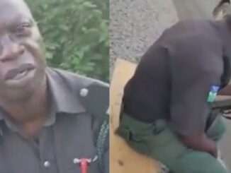 Bribe seeking police officer