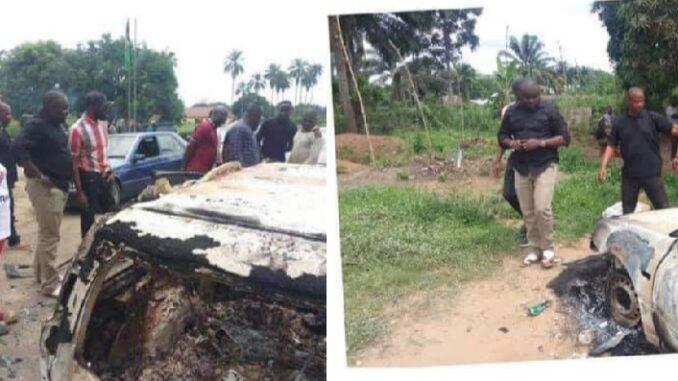 Two officers feared dead as unknown gunmen raze police headquarters in Akwa Ibom
