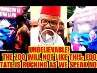 Igodomigodo declare their stand on Biafra