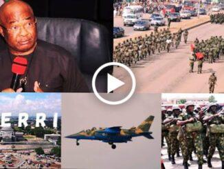 siege at Ikonso way Owerri