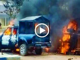 Unknown Gunmen Burns Apumiri Police Station