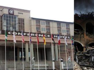 explosion rocks former Ogun State Governor