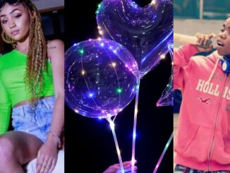 Singer Lyta, baby mama, IG, balloons, birthday