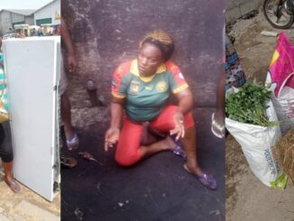 Woman who got beaten by angry mob after attempt to steal spices receives refrigerator, food items, cash to start a business