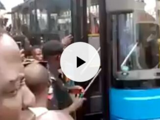 Woman births baby, BRT bus , Lagos