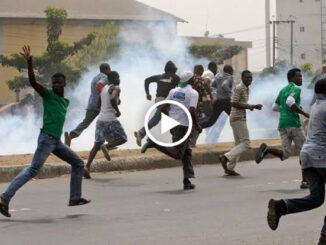Tension As Hoodlums Invade Mile 12, Attack Residents (Video)