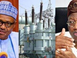 Nigerians are not making use of the power we are selling to four countries - FG