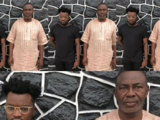 Father and son apprehended by EFCC over alleged Internet fraud (photo)