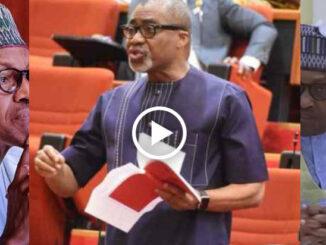 Sen. Abaribe replies Nigeria's ghost president over war threats on Biafrans