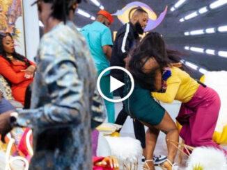 Drama as Kaisha and Lucy fight on BBNaija reunion show
