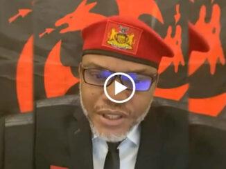 BREAKING! Nnamdi Kanu rejects fresh 15.2 billion dollar offer from Nigeria Govt to dump Biafra