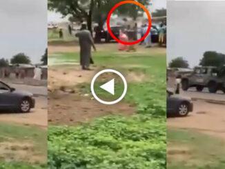 4 Nigerian Soldiers killed in auto crash in Borno state (video)