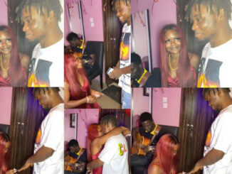 Nigerian lady proposes to her man