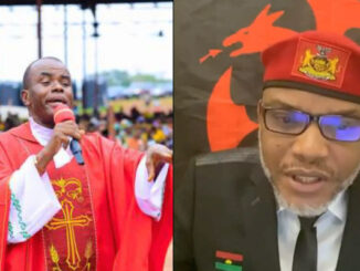 The leader of IPOB, Nnamdi Kanu Not A Murderer, Terrorist, The North Is Finished - Father Mbaka