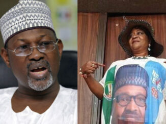 Avoid Controversy - Jega advises Buhari to withdraw Onochie's nomination as an INEC commissioner