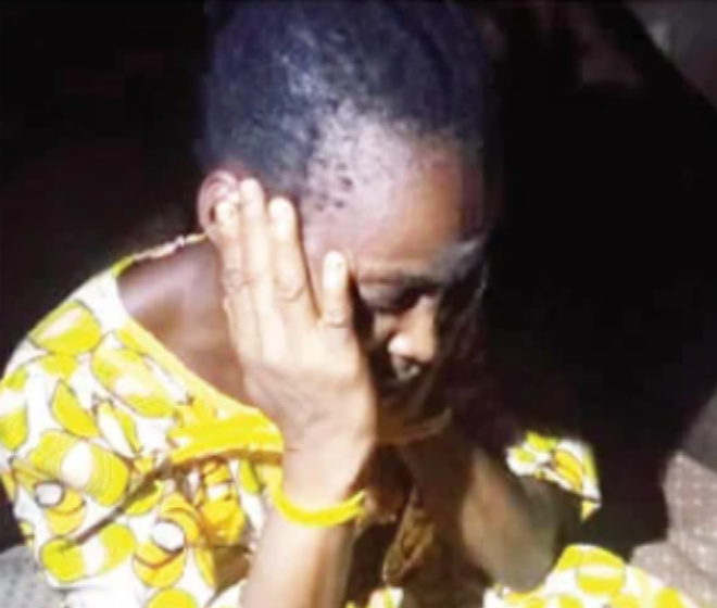 BREAKING: Woman arrested after allegedly locking up five-year-old nephew for 6 months in Lagos