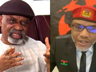 I don't have anything to do with Nnamdi Kanu's re-arrest- Ngige tells IPOB