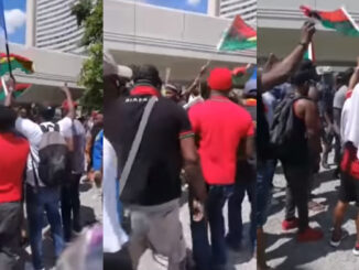 FreeNnamdiKanu protest in Vienna Austria is one of the hottest in Europe