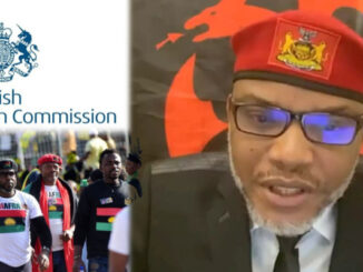 Biafra: British High Commission Officials To Meet Nnamdi Kanu In Detention